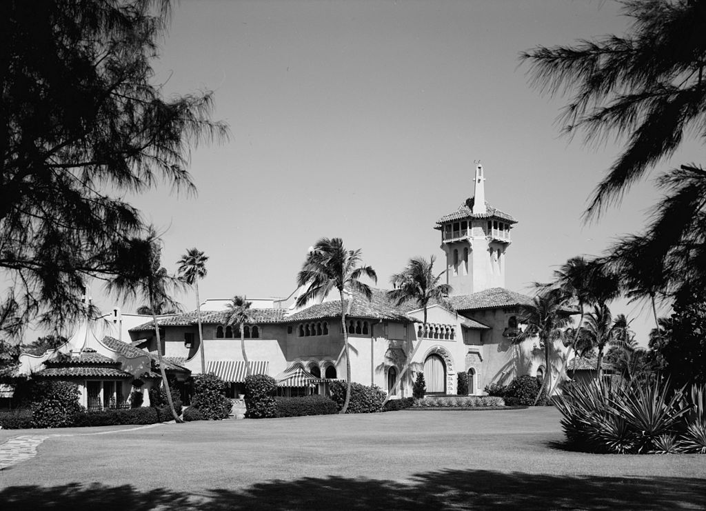 Mar-a-Lago, April 1967 United States Library of Congress's Prints and Photographs