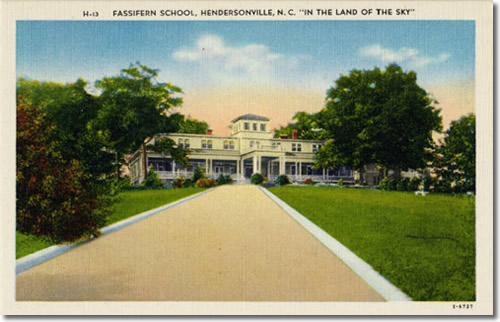 Old Postcard of Fassifern School