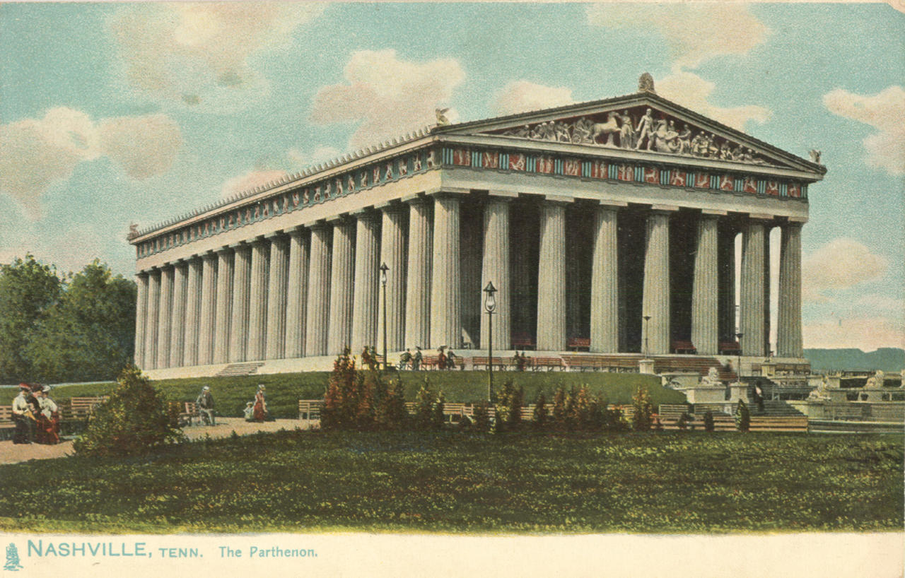 Replica of the Parthenon in Nashville, Tennessee